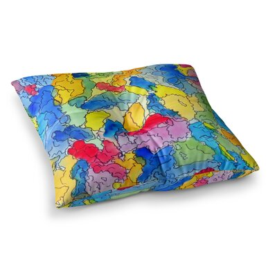 Explorer by Cathy Rodgers Floor Pillow Size: 23 x 23