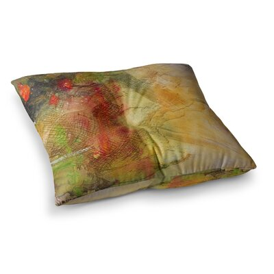 Poppyfield by Carol Schiff Floor Pillow Size: 23 x 23