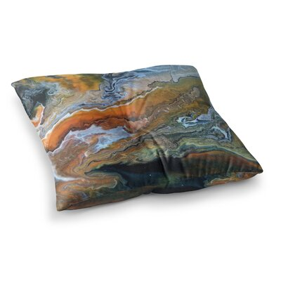 Geologic Veins by Carol Schiff Floor Pillow Size: 26 x 26
