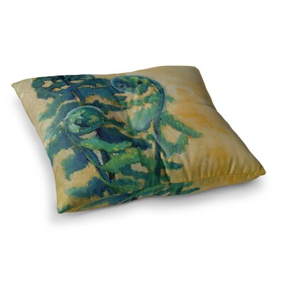 Fiddleheads by Carol Schiff Floor Pillow Size: 23 x 23