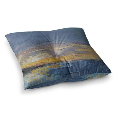 Caribbean Sunset by Carol Schiff Floor Pillow Size: 23 x 23