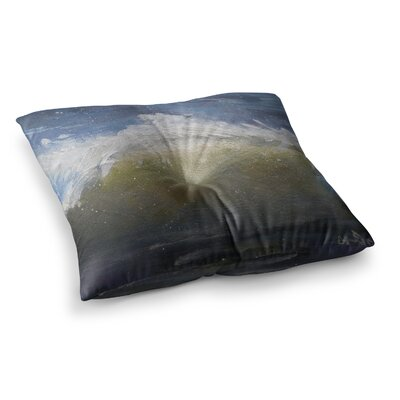 The Curl by Carol Schiff Floor Pillow Size: 26 x 26