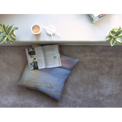 Evening Anchor Painting by Carol Schiff Floor Pillow Size: 23 x 23