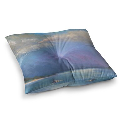 Heading Out by Carol Schiff Floor Pillow Size: 26 x 26