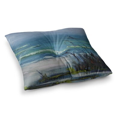 Sanibel Painting by Carol Schiff Floor Pillow Size: 26 x 26