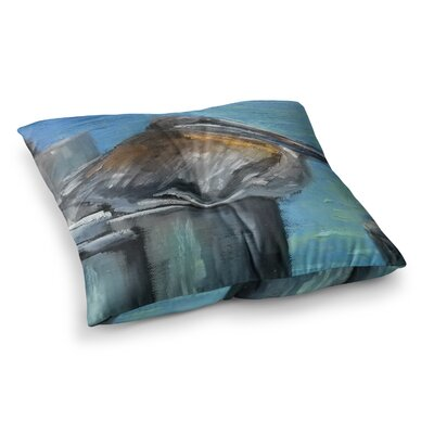 Hunkered Down by Carol Schiff Floor Pillow Size: 23 x 23