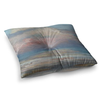 Clouds by Carol Schiff Floor Pillow Size: 23 x 23