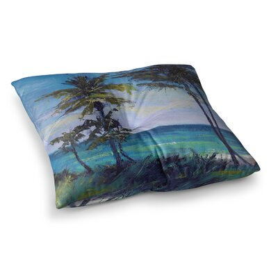 Room with a View by Carol Schiff Floor Pillow Size: 26 x 26