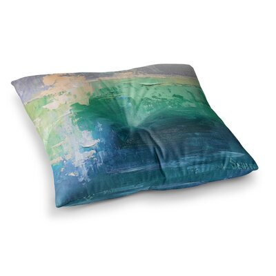 Sea Music Painting by Carol Schiff Floor Pillow Size: 23 x 23
