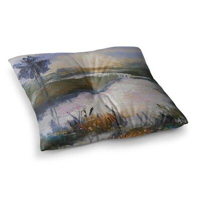 Florida Marshland by Carol Schiff Floor Pillow Size: 23 x 23