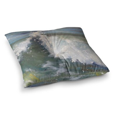 The Crest by Carol Schiff Floor Pillow Size: 26 x 26