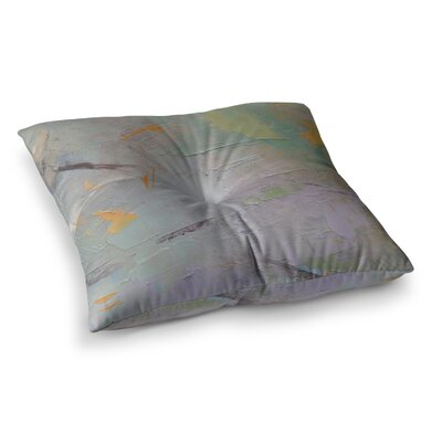 Suddenly Spring Burst Through Painting by Carol Schiff Floor Pillow Size: 23 x 23