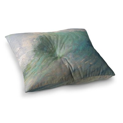 Wall of Water by Carol Schiff Floor Pillow Size: 26 x 26