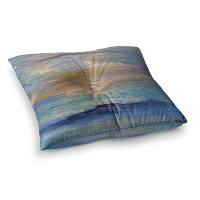 Ocean Sunset by Carol Schiff Floor Pillow Size: 23 x 23