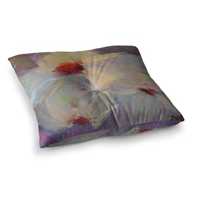 Dreaming of Dogwood by Carol Schiff Floor Pillow Size: 23 x 23