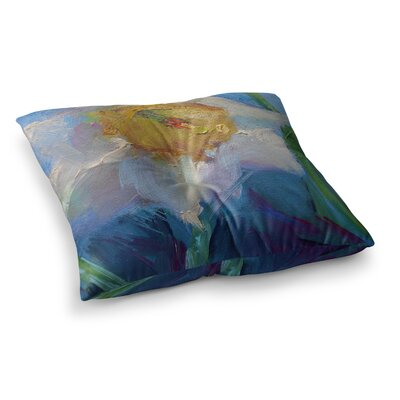 Daffodil Day by Carol Schiff Floor Pillow Size: 23 x 23