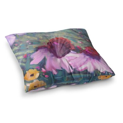 Woodland Fantasy by Carol Schiff Floor Pillow Size: 26 x 26