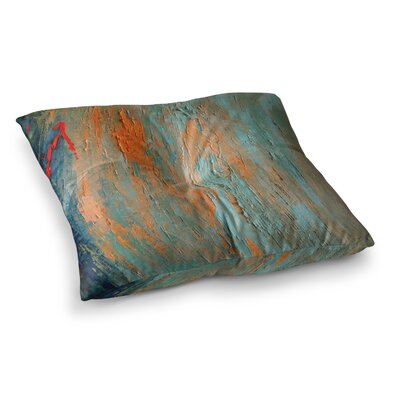 Desert Hues Painting by Carol Schiff Floor Pillow Size: 23 x 23