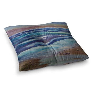 Beach Dreams by Cyndi Steen Floor Pillow Size: 26 x 26