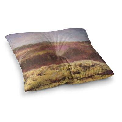 Field by Cyndi Steen Floor Pillow Size: 26 x 26