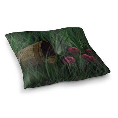 Todays Therapy by Cyndi Steen Floor Pillow Size: 23 x 23