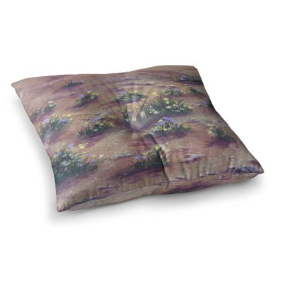Desert Weeds by Cyndi Steen Floor Pillow Size: 23 x 23