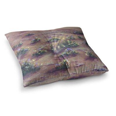 Desert Weeds by Cyndi Steen Floor Pillow Size: 26 x 26