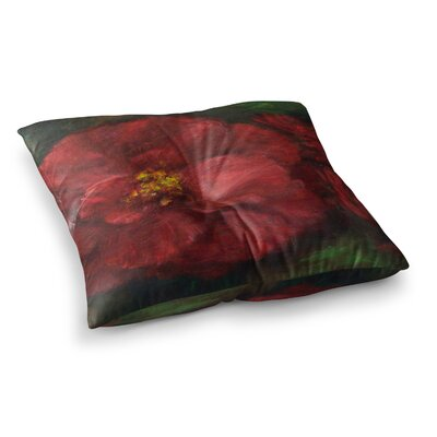 My Beauty by Cyndi Steen Floor Pillow Size: 26 x 26
