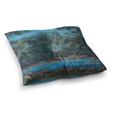 Dont Cut Me Down Nature by Cyndi Steen Floor Pillow Size: 26 x 26