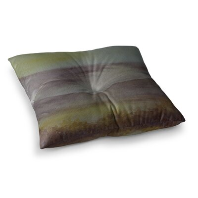 Mauve Sunset Nature by Cyndi Steen Floor Pillow Size: 23 x 23