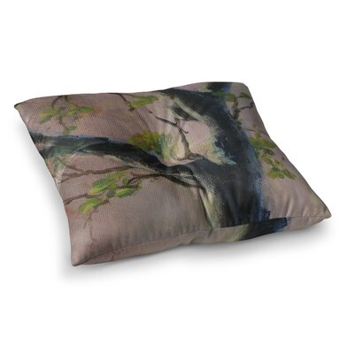 Aussie Tree Nature by Cyndi Steen Floor Pillow Size: 23 x 23