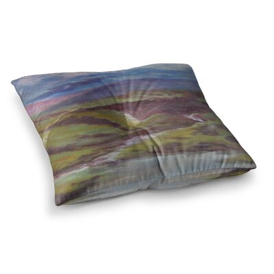 Dreaming of Scotland by Cyndi Steen Floor Pillow Size: 26 x 26