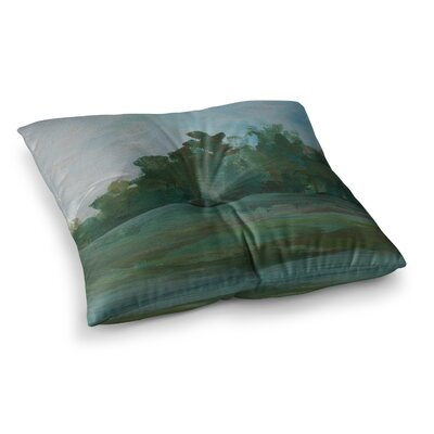 Stand of Trees by Cyndi Steen Floor Pillow Size: 26 x 26