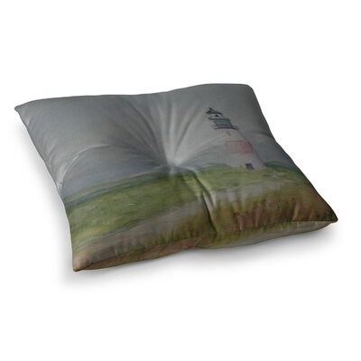 Sankaty Lighthouse by Cyndi Steen Floor Pillow Size: 26 x 26