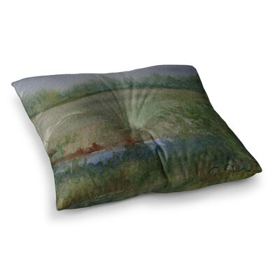 Land That I Love by Cyndi Steen Floor Pillow Size: 23 x 23