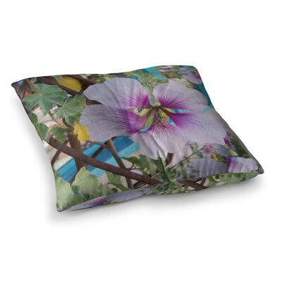 A Climber Digital by Cyndi Steen Floor Pillow Size: 23 x 23