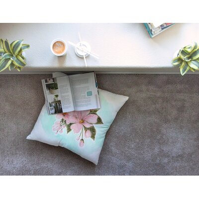 Fumiko by Christen Treat Floor Pillow Size: 23 x 23