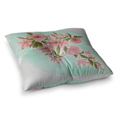 Chieko by Christen Treat Floor Pillow Size: 26 x 26