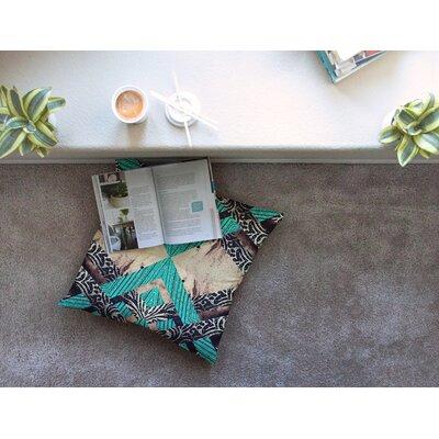 Woven Paisley by Alveron Floor Pillow Size: 26 x 26