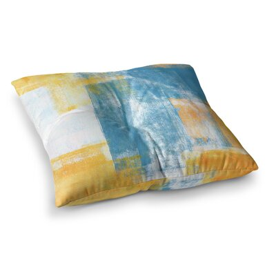 Color Combo by CarolLynn Tice Floor Pillow Size: 23 x 23