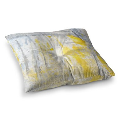 Abstraction by CarolLynn Tice Floor Pillow Size: 26 x 26