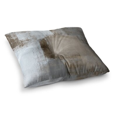 Calm and Neutral by CarolLynn Tice Floor Pillow Size: 23 x 23