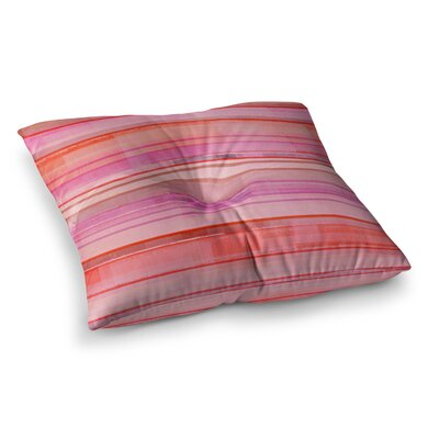 Starwberry Shortcake by CarolLynn Tice Floor Pillow Size: 26 x 26