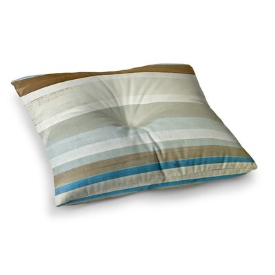 Invent by CarolLynn Tice Floor Pillow Size: 26 x 26