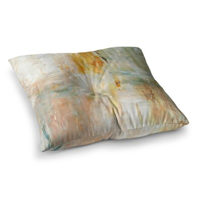 Coffee by CarolLynn Tice Floor Pillow Size: 23 x 23