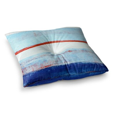 Stripes by CarolLynn Tice Floor Pillow Size: 26 x 26