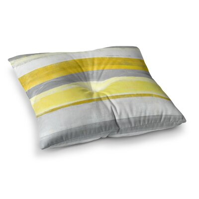 Lemon by CarolLynn Tice Floor Pillow Size: 26 x 26