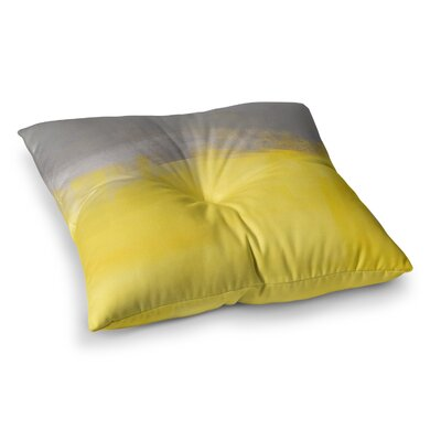 A Simple Abstract by CarolLynn Tice Floor Pillow Size: 26 x 26