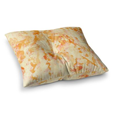 Explosion by CarolLynn Tice Floor Pillow Size: 26 x 26