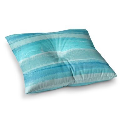 Sand Bar by CarolLynn Tice Floor Pillow Size: 23 x 23